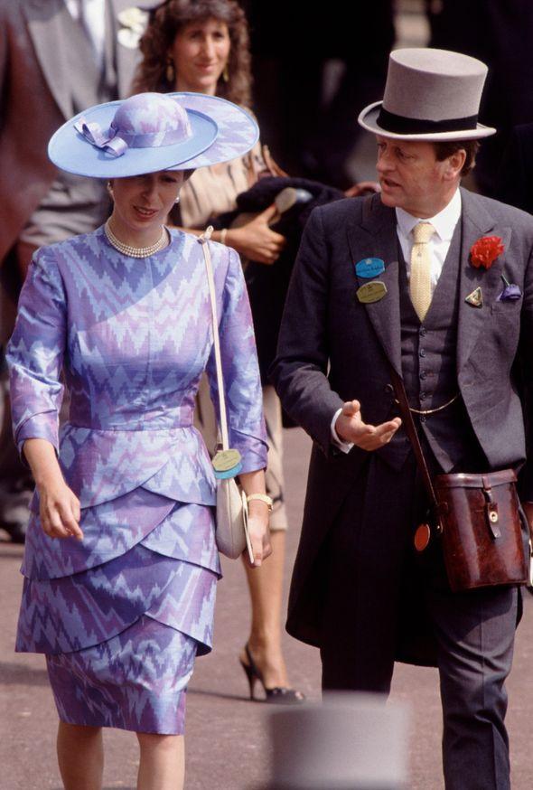 princess anne news andrew parker bowles affair royal family