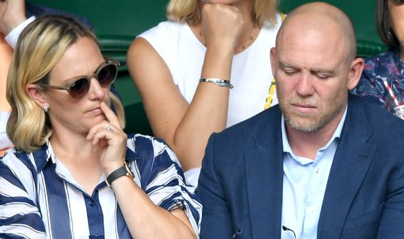 zara tindall pregnant news royal baby mike tindall