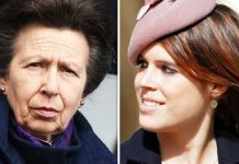 Princess Eugenie and Princess Anne