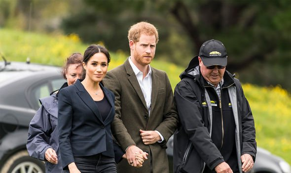 Meghan and Harry's security costs were trhe subject of great speculation after Megxit