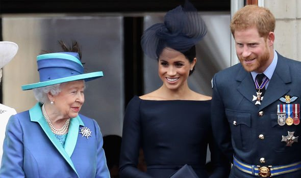The Queen negotiated the terms of Meghan and Harry's exit last year