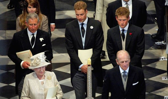 Charles is the heir apparent, while William is the second-in-line and Harry is sixth-in-line