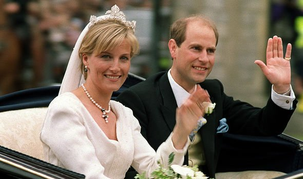 Sophie married Prince Edward in 1999 and they became the Earl and Countess of Wessex