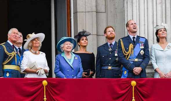 Meghan was a working member of the Royal Family for almost two years