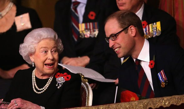William was expected to adopt the same hard stance as the Queen in  the Megxit review
