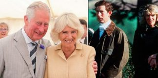 Charles and Camilla young and old