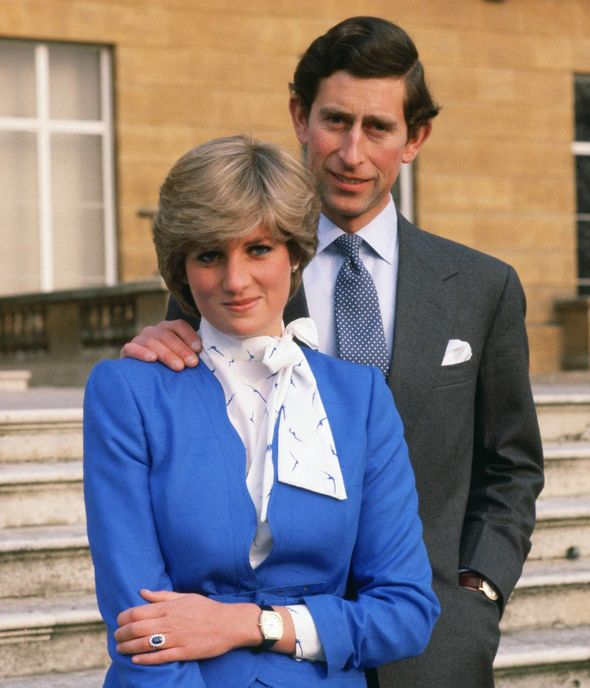 Diana's choice of ring may not have been approved by the Queen at first