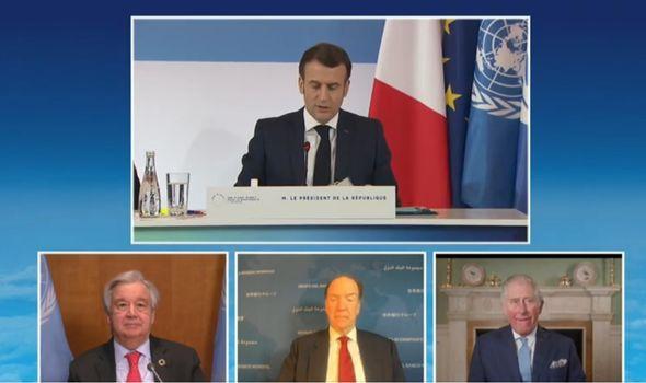 One Planet Summit leaders speaking