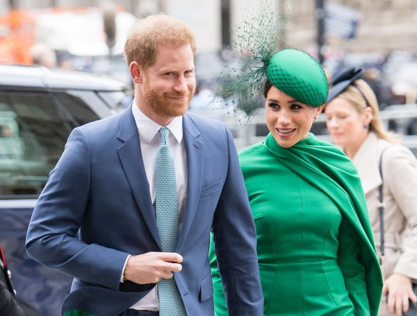 Harry and Meghan moved to California