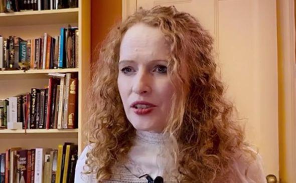 Historian Professor Kate Williams