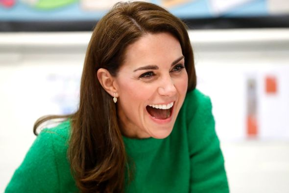Kate Middleton told pre-schoolers of her children's royal diet