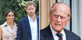 Meghan Markle, Prince Harry and Prince Philip