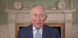 Prince Charles speaking