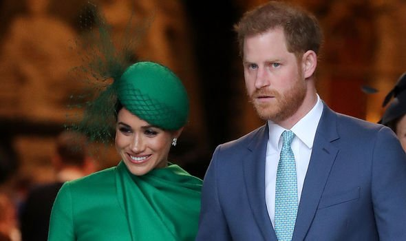 Prince Harry and Meghan Markle on their last royal engagement