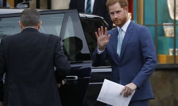 Prince Harry told 'clock running out' to address immigration status