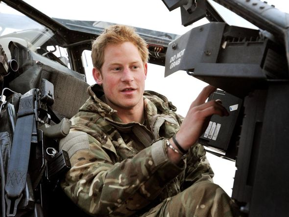 Prince Harry was said to be