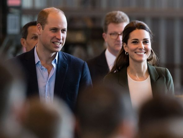 Prince William and Kate Middleton in Cyprus in 2018