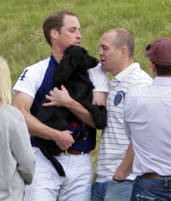 Prince William and Lupo