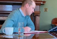 Prince William gave a glimpse into the Queen's Sandringham House