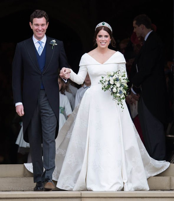 Princess Eugenie baby: Wedded couple