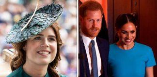 Princess Eugenie meghan markle prince harry