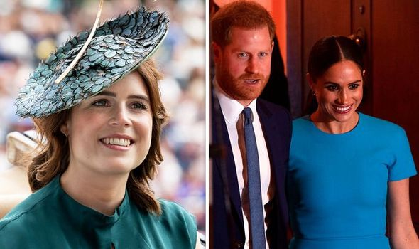 Princess Eugenie meghan markle prince harry