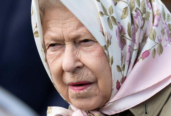 Queen Elizabeth II pictured in 2019