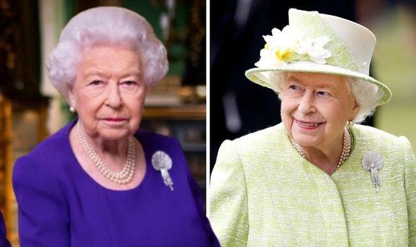 Queen Elizabeth II wears stunning diamond brooch with sweet history for Christmas 2020