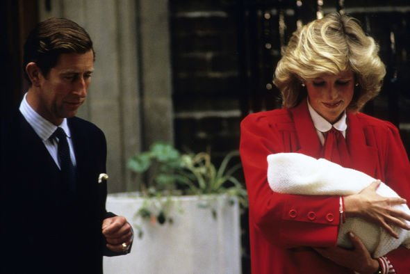 Royal baby: Charles and Diana with a newborn Harry, 1984