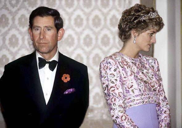 Royal divorce: Charles and Diana separated in 1992, going on to divorce four years later in 1996