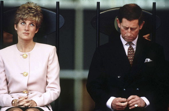 Royal tour: Charles and Diana pictured a year before their separation, on their Canadian tour