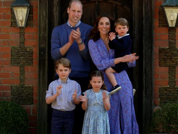 The Duke and Duchess of Cambridge are homeschooling their children during lockdown