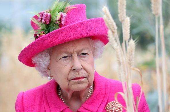 The Queen looking off camera