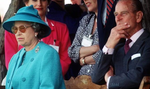 The Queen: Elizabeth II and Prince Philip are said to keep 'each other at bay'