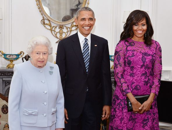 The Queen and the Obamas
