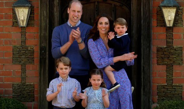 William, Kate, George, Charlotte and Louis