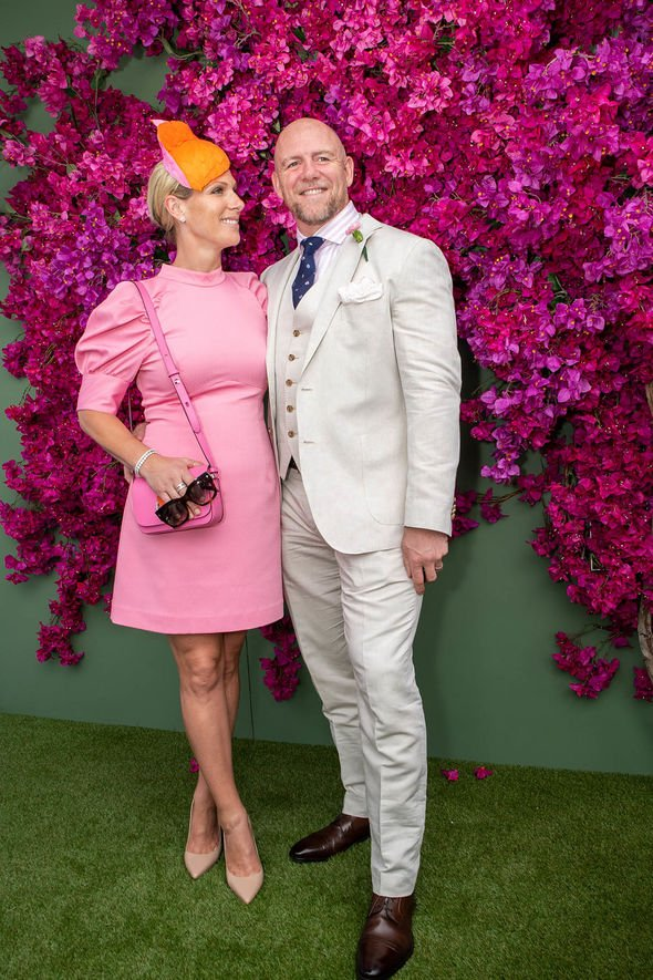 Zara Tindall baby: The Tindall couple