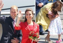 kate middleton hug duchess of cambridge travel hugging royal tour state visit