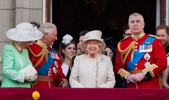 meghan markle prince harry queen birthday the crown