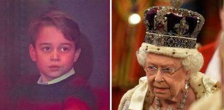 prince george queen elizabeth ii