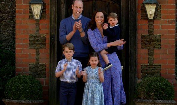 Prince George title: Cambridge family