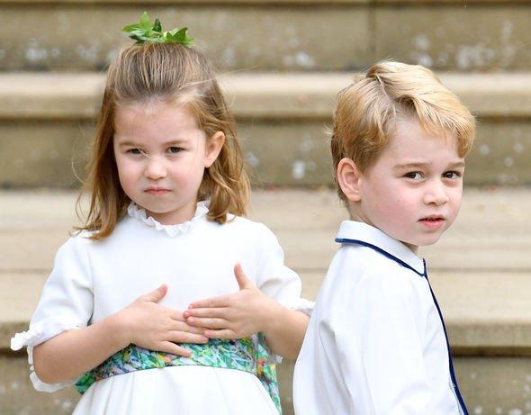 Prince George title: Princess Charlotte and Prince George