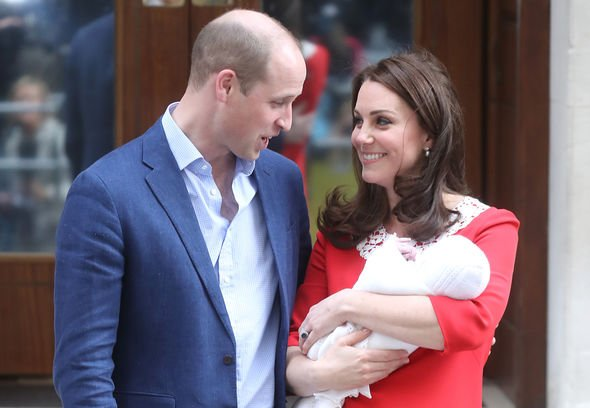 Prince Louis title: Prince William, Kate Middleton and Prince Louis