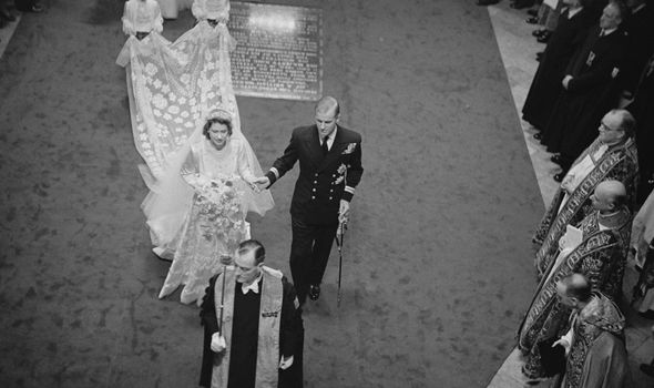queen latest news prince philip royal wedding 1947