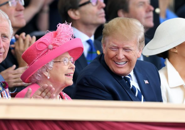 Queen news: The Queen and Donald Trump