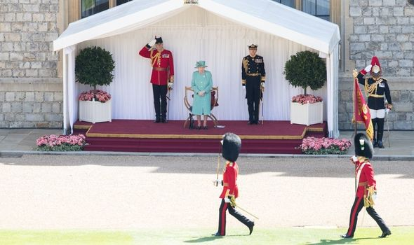 the queen's birthday trooping the colour
