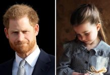 Prince Harry and his niece Princess Charlotte