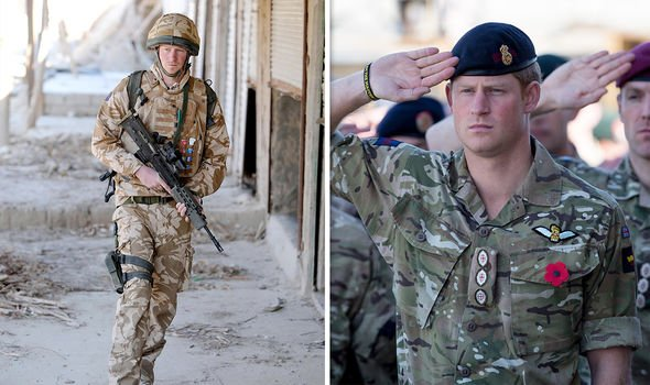 Prince Harry served in the Army for a decade