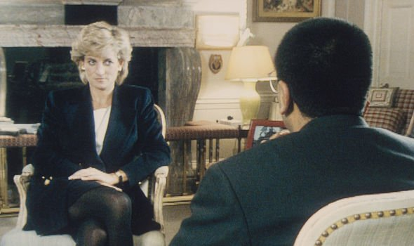 Diana's 1995 interview with Martin Bashir