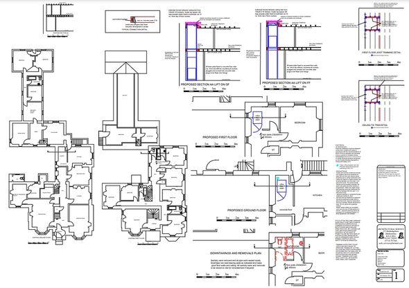 Craig Gowan House Blueprint